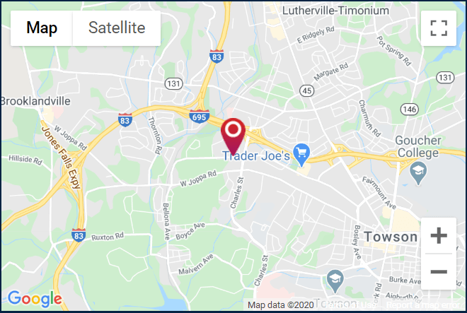 Towson Ortho Bellona location. Click for a Google map and directions.