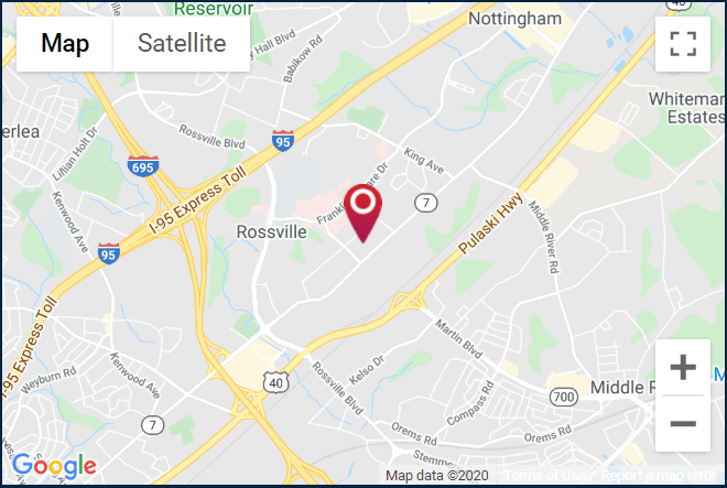 Towson Ortho Rosedale location. Click for a Google map and directions.